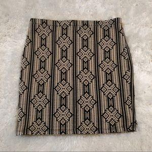 NWOT Mini Bodycon Skirt